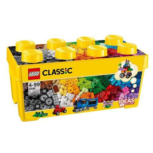 LEGO樂高經典系列 10696 中型創意拚砌盒桶
