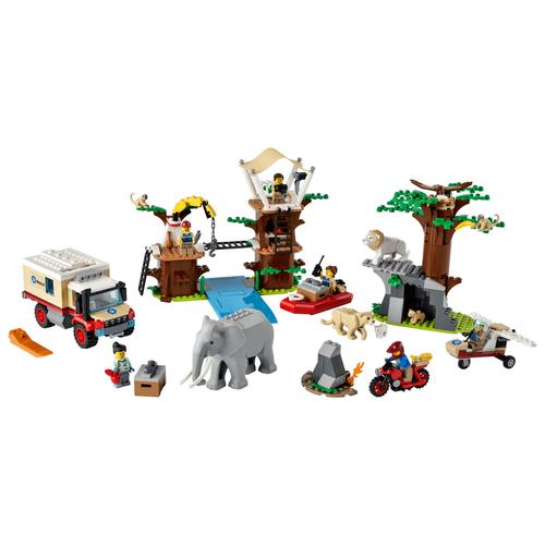 Lego樂高 60307 野生動物救援營