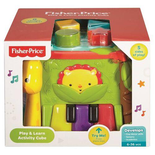 Fisher-Price費雪可愛動物積木盒