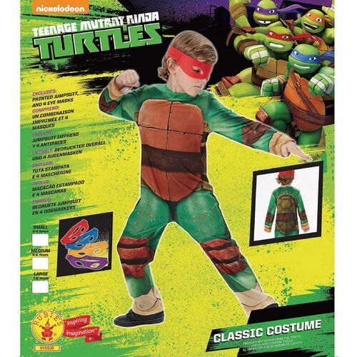 Teenage Mutant Ninja Turtles忍者龜經典造型服S