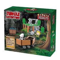 Banbao邦寶 8029 史努比叢林系列-叢林採礦車