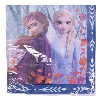 Disney Frozen迪士尼冰雪奇緣派對用品 Party Time大紙巾16入