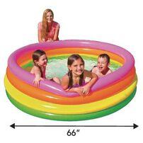Intex 炫彩游泳池(168*46cm)