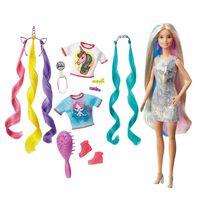Barbie芭比夢幻髮型組