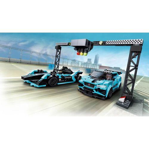 LEGO樂高超級賽車系列 LEGO Speed Champions Formula E Panasonic Jaguar Racing Gen2 Car & Jaguar I-Pace Etrophy 76898