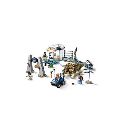 LEGO樂高侏儸紀世界系列 75937 Triceratops Rampage 積木 玩具