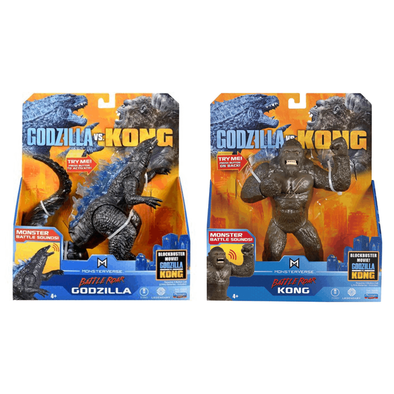 Godzilla vs. Kong哥吉拉大戰金剛: 7吋豪華公仔- 隨機發貨