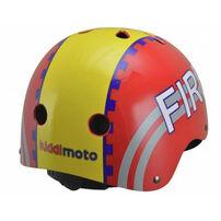 Kiddimoto 溜冰用防護頭盔S-火焰