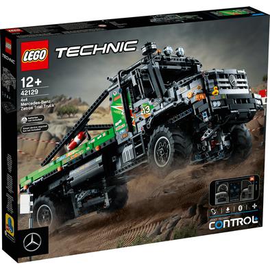 Lego樂高 42129 4x4 Mercedes-Benz Zetros Trial Truck