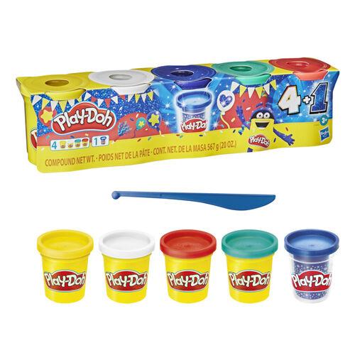 Play-Doh培樂多 藍寶石限定4+1組