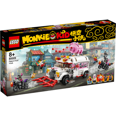 LEGO樂高 80009 悟空小俠 朱大廚移動釘耙車