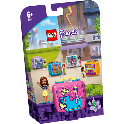 Lego樂高 41667 休閒秘密寶盒-奧麗薇亞與電玩