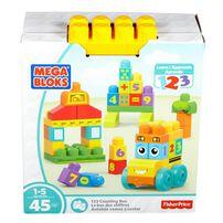 Mega Bloks美高積木 123學習巴士組