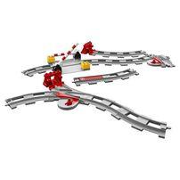 LEGO樂高得寶系列 列車軌道 10882 積木 玩具