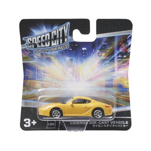 Speed City 極速城市 合金車- 隨機發貨