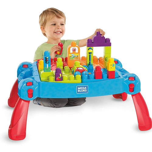 Mega Bloks美高積木學習遊習桌