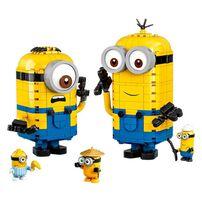 LEGO樂高小小兵系列 75551 Brick-built Minions Figures and their Lair