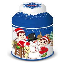 Fujiya不二家 聖誕牛乳糖罐(藍50G)