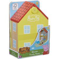 Peppa Pig粉紅豬小妹-(木製)豪華房屋組