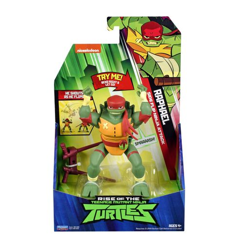 Teenage Mutant Ninja Turtles忍者龜 經典翻滾公仔系列