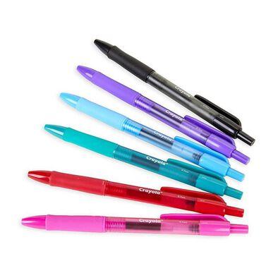 Crayola繪兒樂6入可水洗快乾膠筆