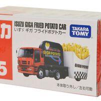 Tomica多美 No﹒55 Isuzu Giga Fried Potato Car