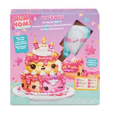 甜心派對生日蛋糕slimy史萊姆