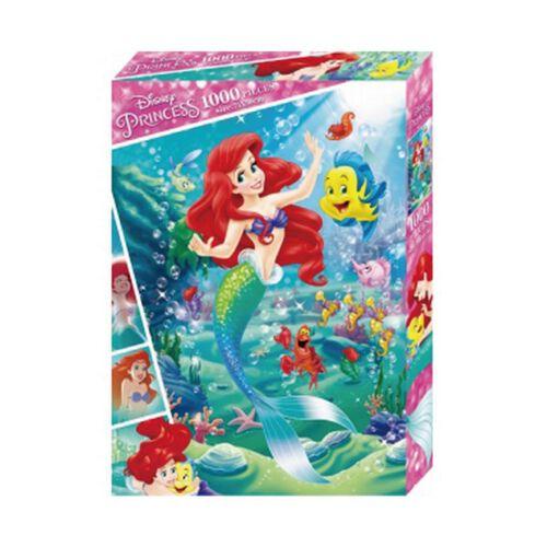 Disney Princess迪士尼公主 小美人魚1000片盒裝拼圖(B)