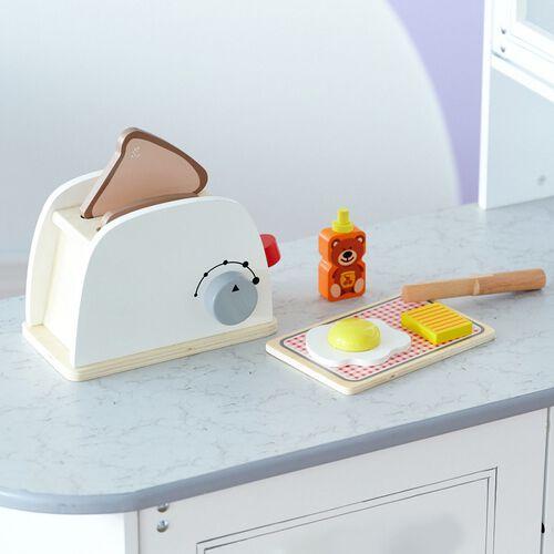 Teamson 烤土司機麵包組8件組合