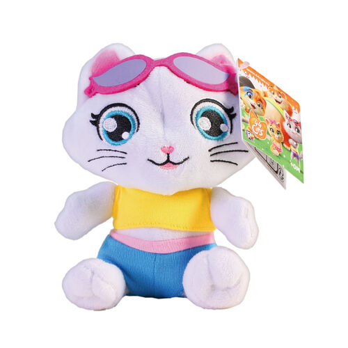 Witty Toys 四喜貓 5吋絨毛娃娃 - 隨機發貨