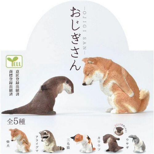 Re-Ment盒玩 Yell盒玩 動物鞠躬系列 - 隨機發貨