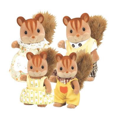 Sylvanian Families森林家族 紅松鼠家庭組