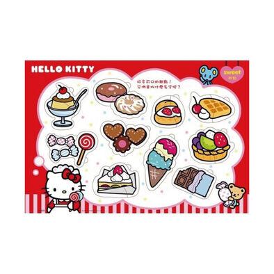 Acme世一 Hello Kitty可口的點心嵌入拼圖