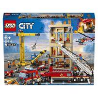 LEGO樂高城市系列 60216 市區消防隊 積木 玩具
