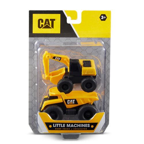 CAT 小工程車2入組 - 隨機發貨
