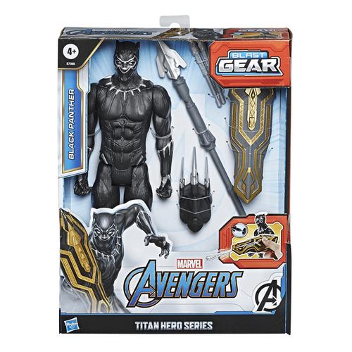 Marvel漫威復仇者聯盟泰坦英雄發射配件組 黑豹