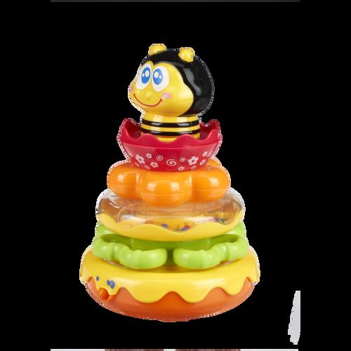 Top Tots天才萌寶 寶寶蜜蜂套圈疊疊樂