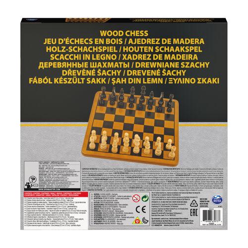 Spin Master 木製西洋棋