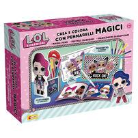 L.O.L. Surprise!驚喜寶貝蛋 驚喜魔法彩色筆創作組