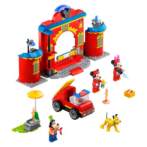 Lego樂高 10776 Mickey & Friends Fire Truck & Station