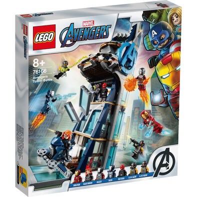 LEGO樂高76166 Avengers Tower Battle