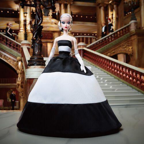 Barbie芭比60周年黑白造型娃娃