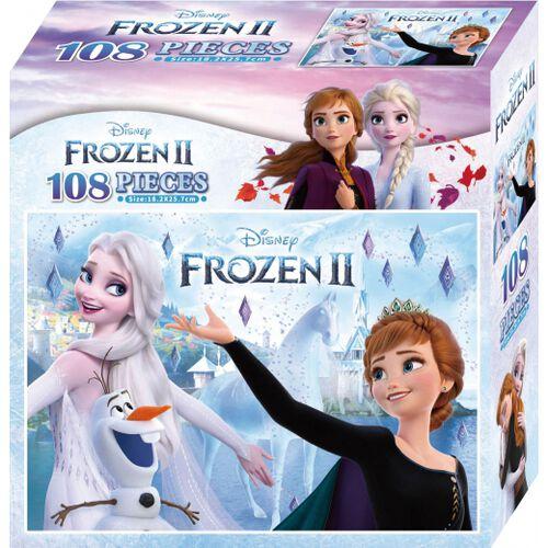 Disney Frozen 2 迪士尼冰雪奇緣2 108片盒裝拼圖(A)
