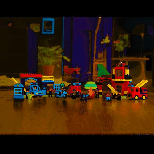 LEGO樂高得寶系列 10901 消防車