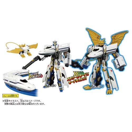 Takara Tomy DXS 新幹線變形機器人 N700S希望號