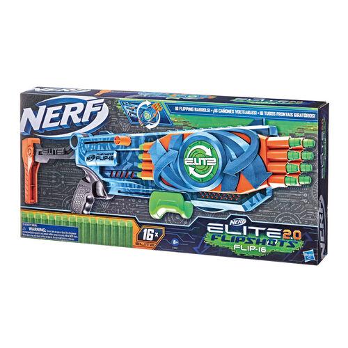 Nerf菁英系列 急速翻轉16射擊器