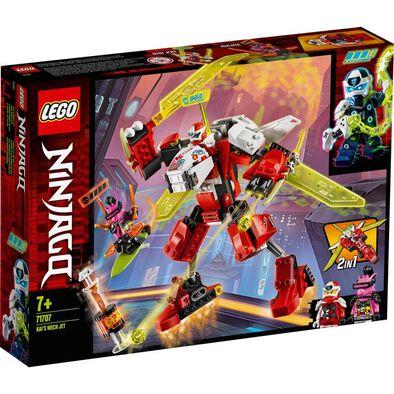 LEGO樂高幻影忍者系列 赤地機甲噴射機 71707