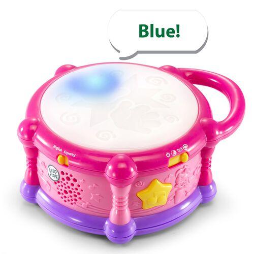 LeapFrog 跳跳蛙 繽紛彩色學習鼓(粉色)