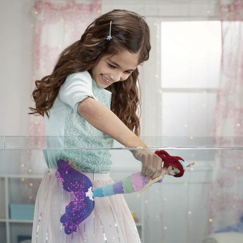 Disney Princess迪士尼公主 愛麗兒公主彩虹美人魚戲水組