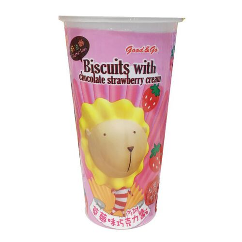 Sang Yang 奶油獅 杯杯草莓巧克力棒